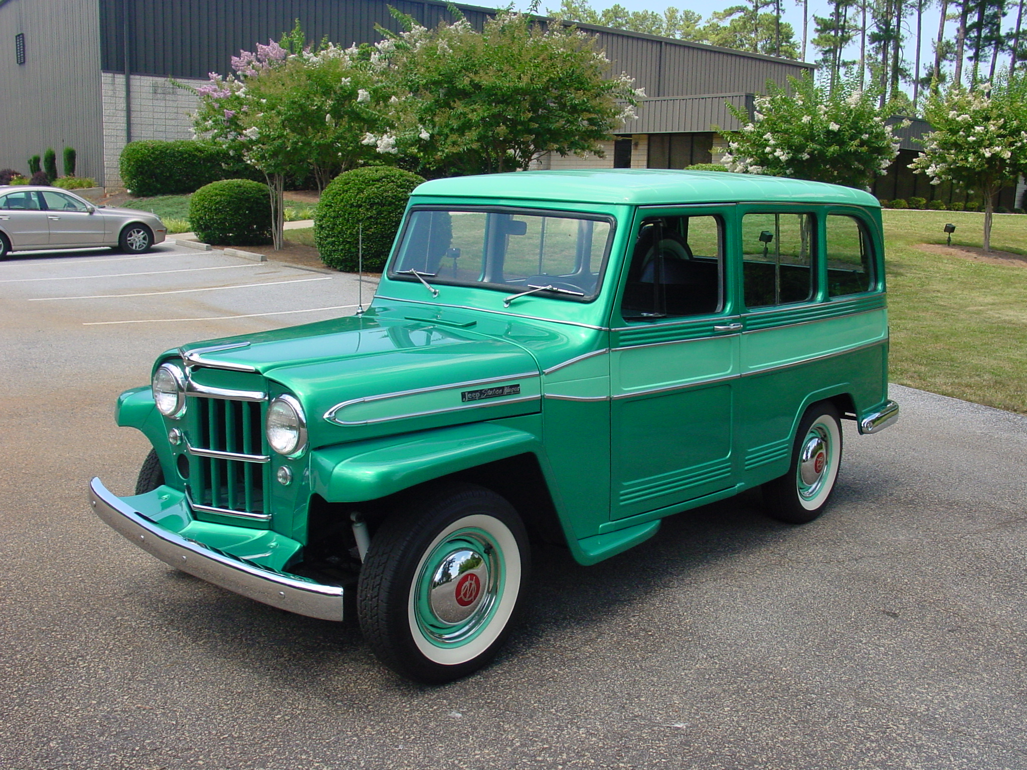 19 60 Willys JEEP Station Wagon